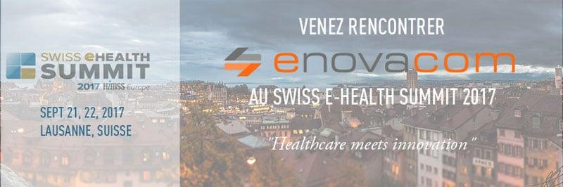 Enovacom présent au Swiss E-Health Summit 2017