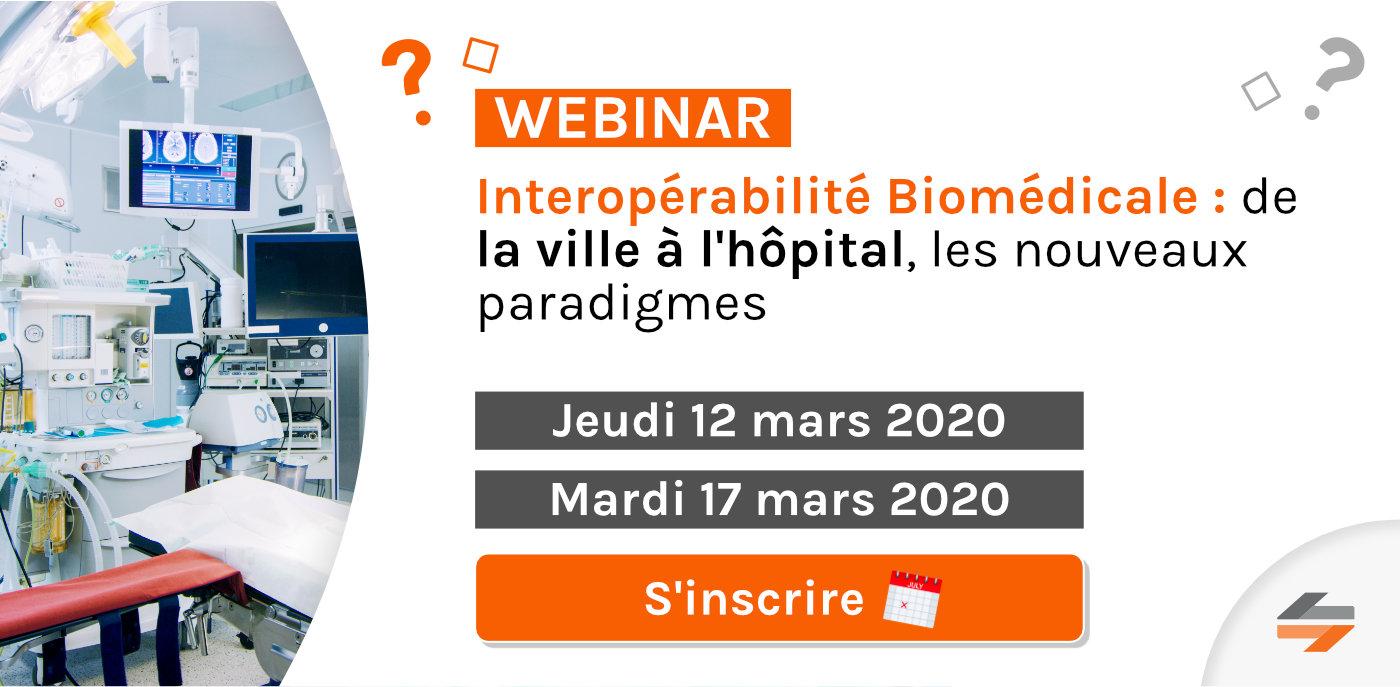 Interopérabilité Biomédicale : de la ville à l'hôpital, les nouveaux paradigmes
