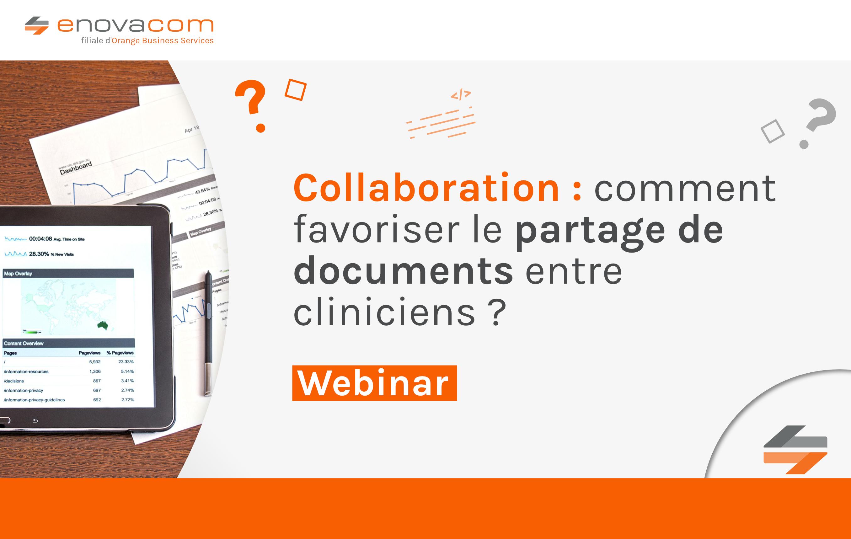 Collaboration : Comment favoriser le partage de documents entre cliniciens