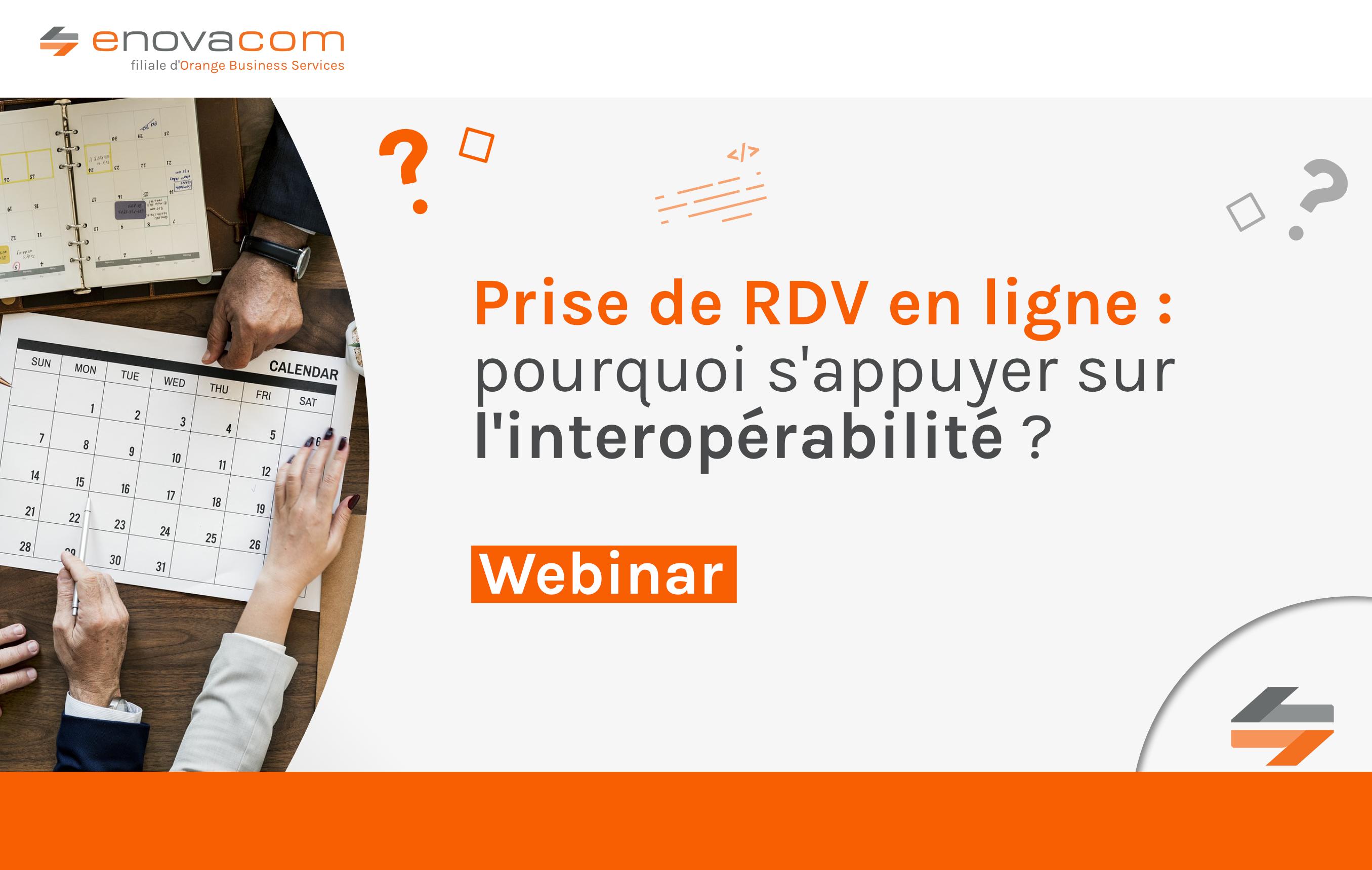 Prise de rendez-vous en ligne : pourquoi s'appuyer sur l'interopérabilité ?